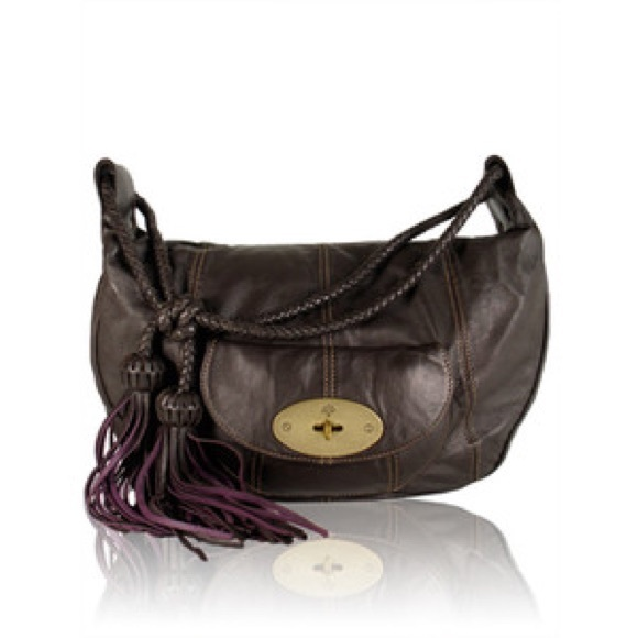 Mulberry Araline Chocolate Brown Tassel Purse. M 5a9b140c61ca10bab21f1db7 403cb7146e0d1